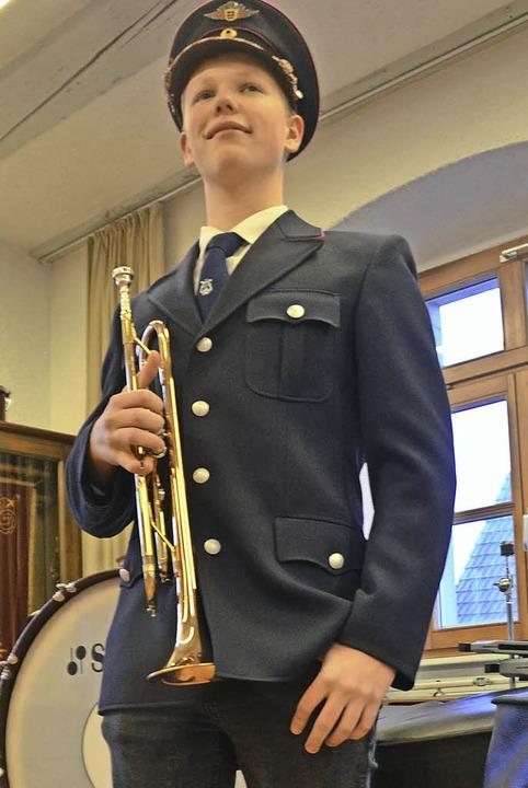 Samuel Wiese in Uniform    Foto: Janina Ruth
