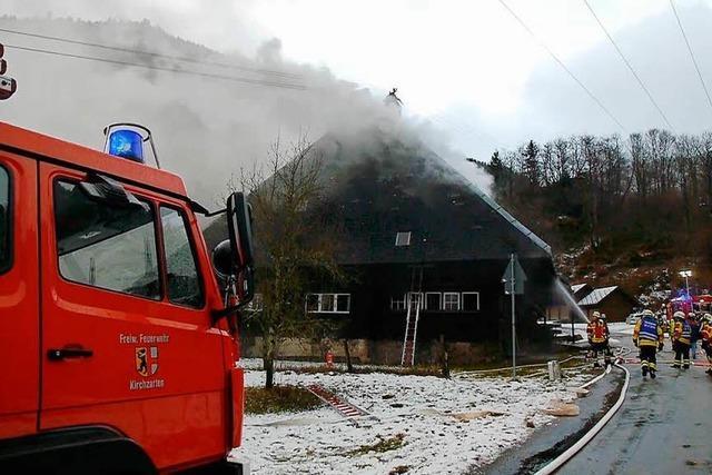 Mederlehof in Oberried nach Brand monatelang für Gäste gesperrt