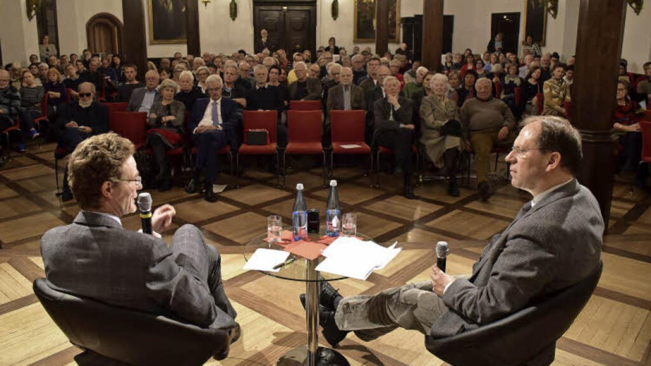 Kompromisse sind wichtig für ein harmo... mit BZ-Chefredakteur Thomas Fricker).  | Foto: Thomas Kunz