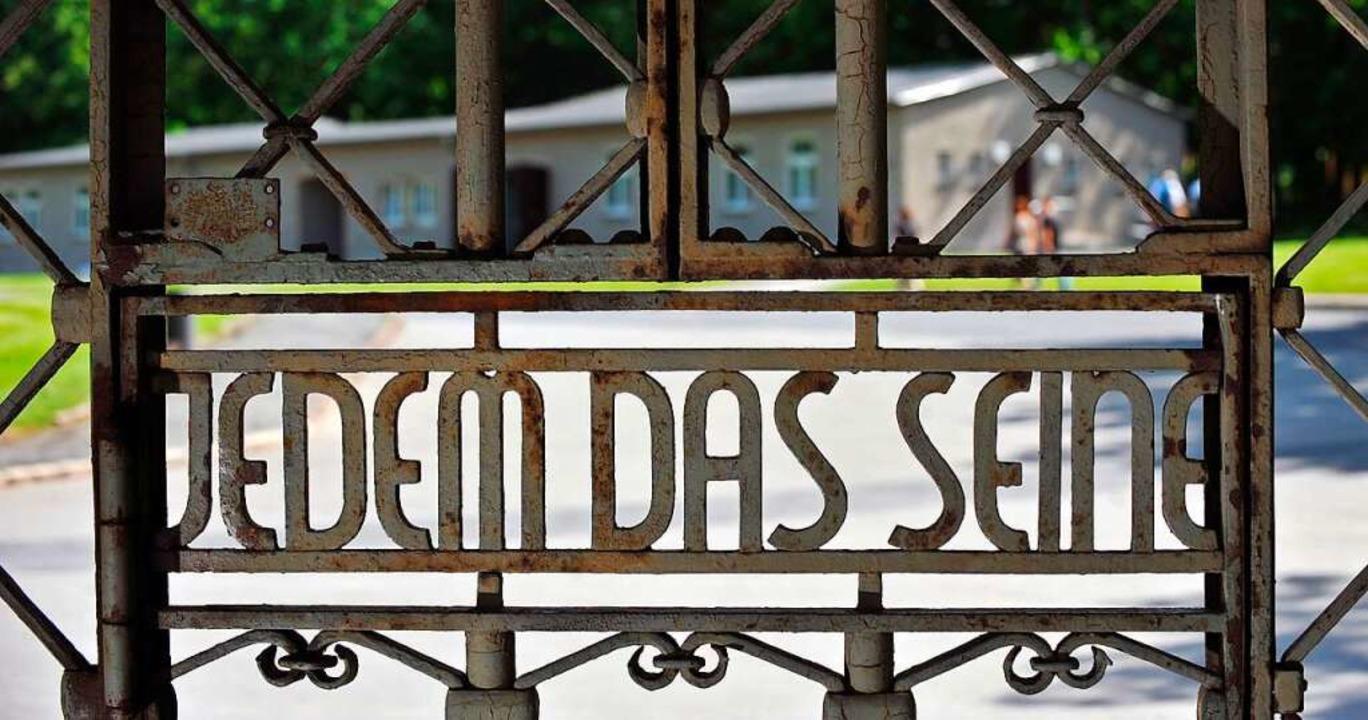 Das Tor des Konzentrationslagers Buche...dem Waldemar Hoven als Arzt tätig war.  | Foto: Martin Schutt