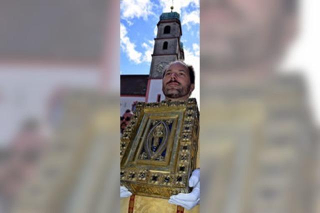 Heiliger Fridolin als Vorbild