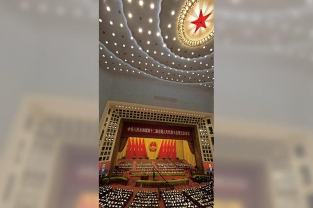 Volkskongress in China sendet Spitzen gegen Donald Trump