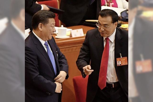 Präsident Xi Jinping lässt sich in Staatsmedien als großer Führer feiern