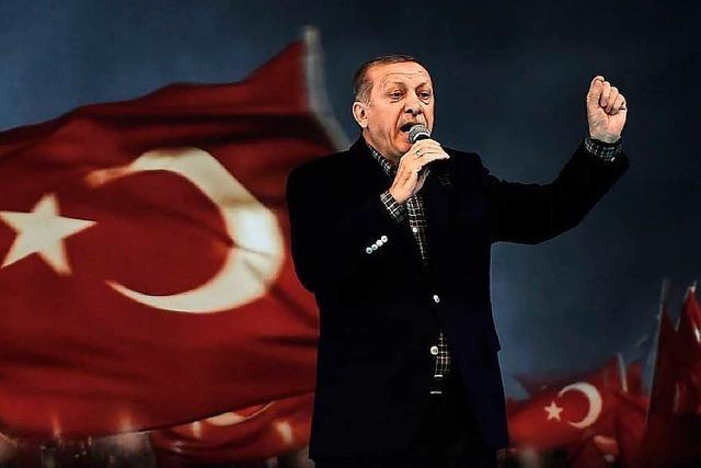 Ärger über Nazi-Vergleich von Präsident Erdogan