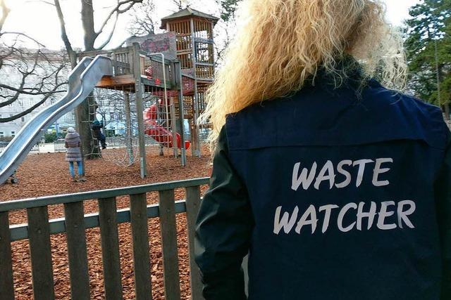 Müll-Polizei schnappt Abfallsünder auf frischer Tat