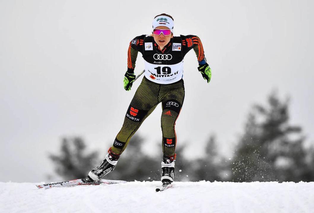 Läuft's beim Weltcup im norwegischen Drammen besser?  | Foto: dpa