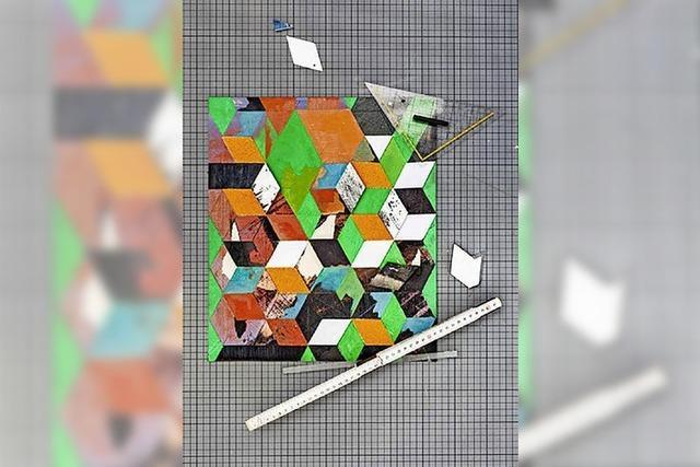 Lukasz Chroboks Werke sind noch bis 8. April im T66 Kulturwerk in der Talstraße 66 zu sehen