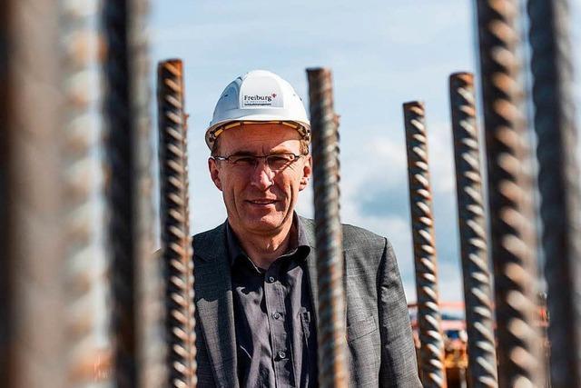 Baubürgermeister Haag verteidigt Stadtteil Dietenbach gegen Proteste