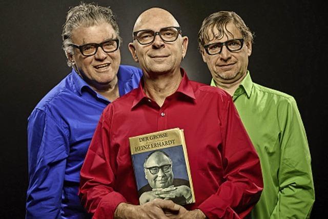 Günter Fortmaier, Frank Sauer und Volkamr Straub mit der Heinz-Erhardt-Show in Kenzingen