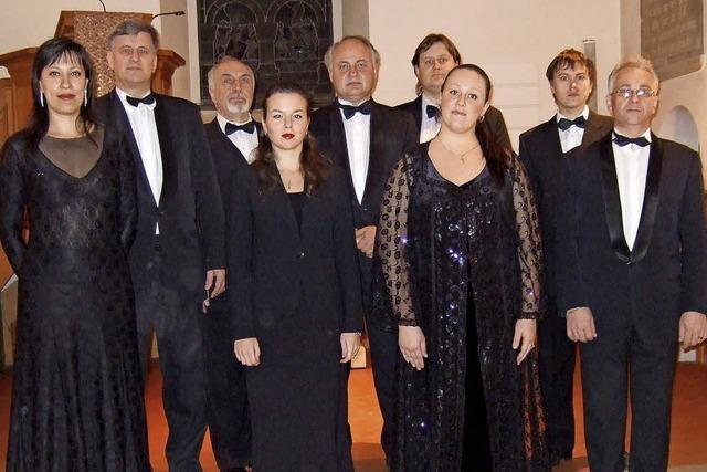 A-cappella-Ensemble Voskresenije in Hinterzarten