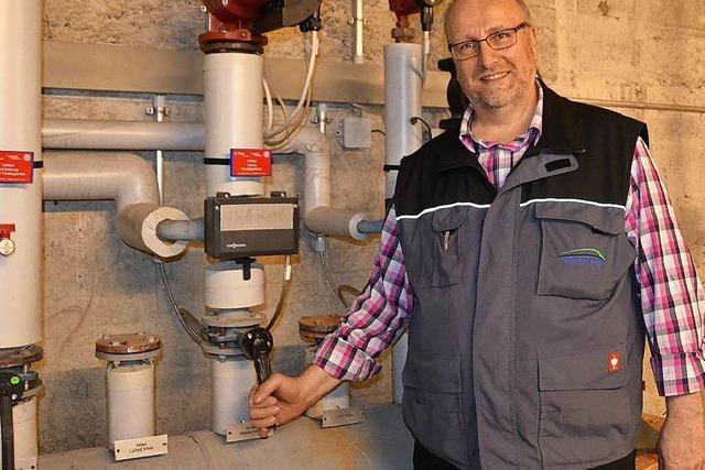 Manfred Pfaff ist seit 22 Jahren Hausmeister in Weil am Rhein