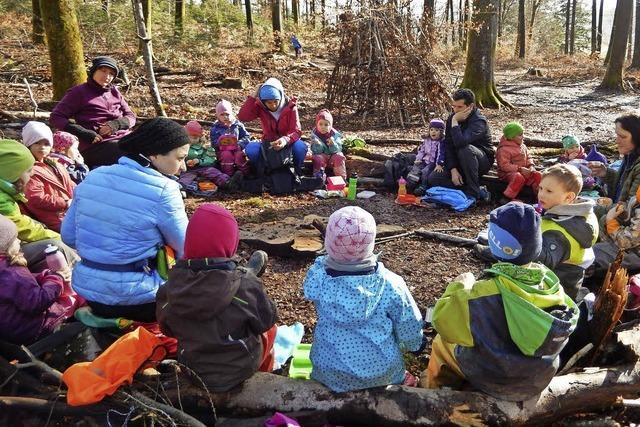 Zuwachs für den Waldkindergarten