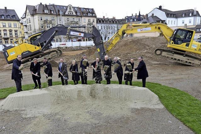 """Start des 70 Millionen Euro teuren Projekts """"Habsburger Mitte"""""""