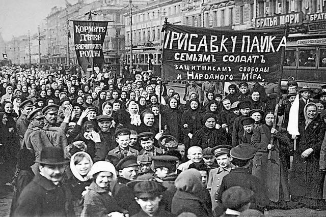 Vor 100 Jahren begann in Russland die Februarrevolution