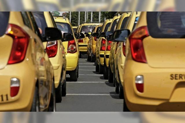 Gelbe Taxis bauen weniger Unfälle