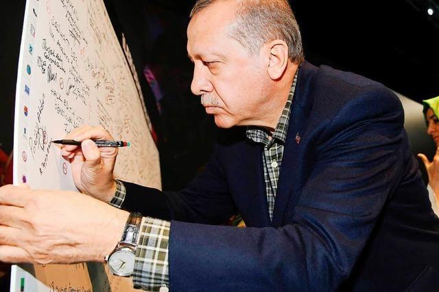 Türkischer Wahlkampf in Deutschland ist legitim