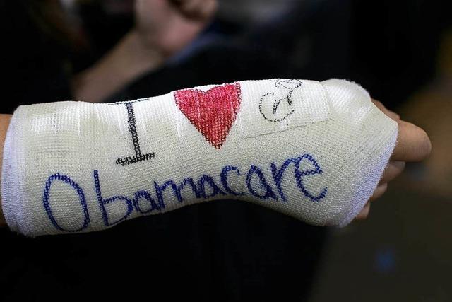 Republikaner legen Entwurf zur Abschaffung von Obamacare vor