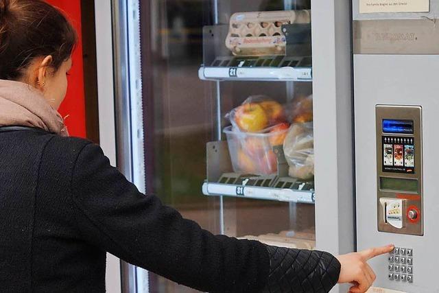 Kartoffeln auf Knopfdruck: Regionale Erzeugnisse aus dem Automaten