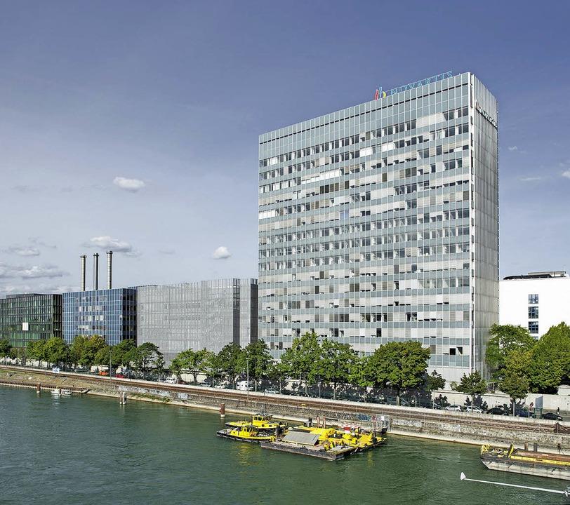 Das Klybeckareal vom Rhein her gesehen...den Novartis auch künftig nutzen will.  | Foto: ZVG
