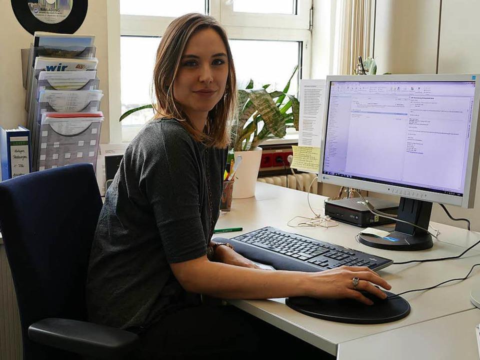 Die Assistentin der Chefredaktion- Selina  | Foto: Daniela Ristic
