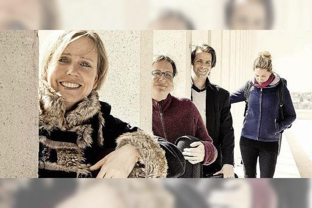 Das Salagon-Quartett spielt in der Martinskirche Müllheim
