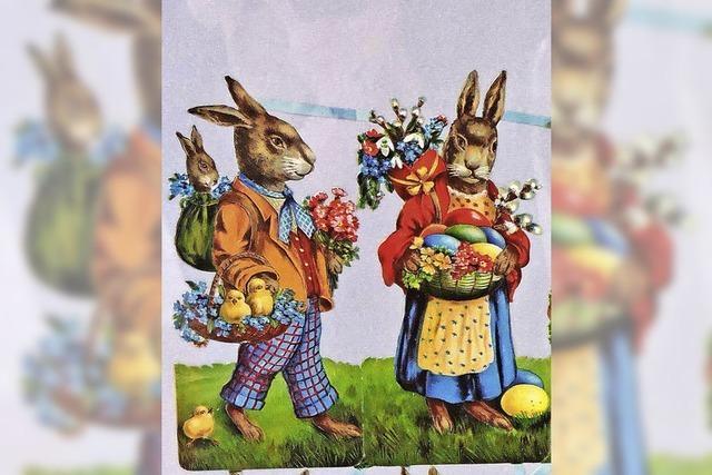Die Osterausstellung im Elztalmuseum stellt den Hasen in den Mittelpunkt