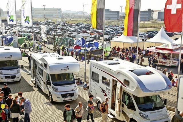 Bei den CFT-Freizeitmessen in Freiburg dreht sich alles um Camping, Fahrräder und Ferienplanung