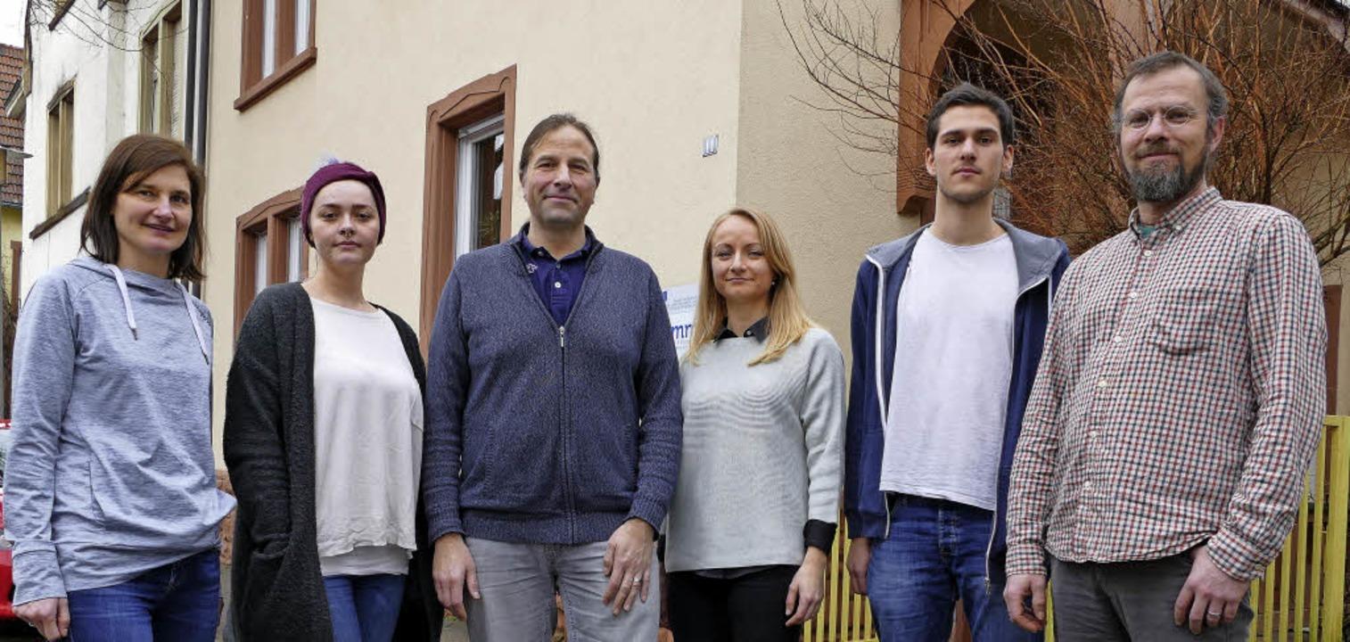 Zogen für die Jugend- und Drogenberatu...ickert und Martin Fischer (von links).  | Foto: Andrea Strumberger