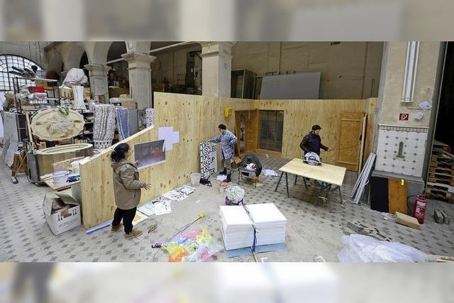 Kulturzentrum E-Werk besitzt neuen, experimentellen Ausstellungsraum namens