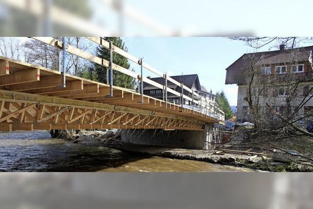 Brückenbau dauert noch