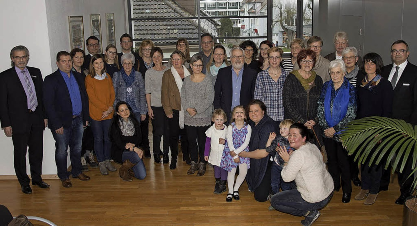 Fast 42000 Euro verteilte die Dachstif...gräflerland an diverse Institutionen.   | Foto: Münch