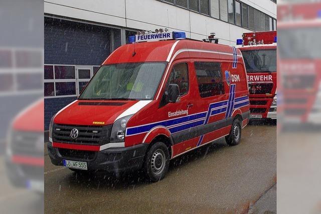 Feuerwehr braucht neues Fahrzeug