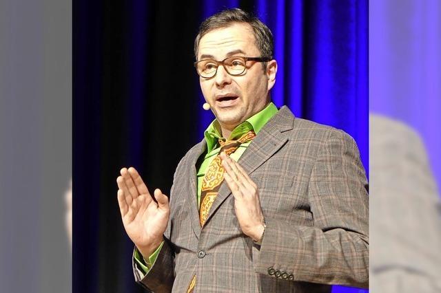 Comedian mit Kotzbrocken-Image