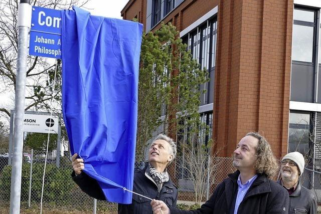 Lörrach: Die Comeniusstraße wurde eingeweiht