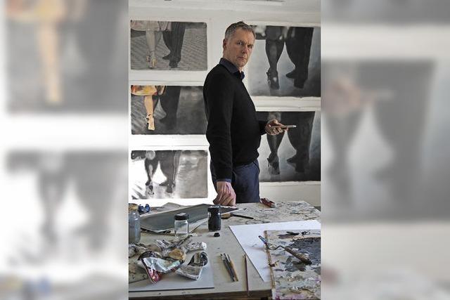 Lörracher Maler Packeiser plant Veranstaltung im Mai