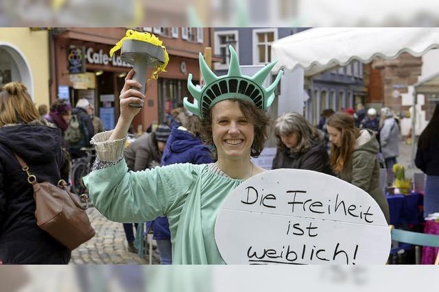 So wurde der Weltfrauentag in Freiburg begangen