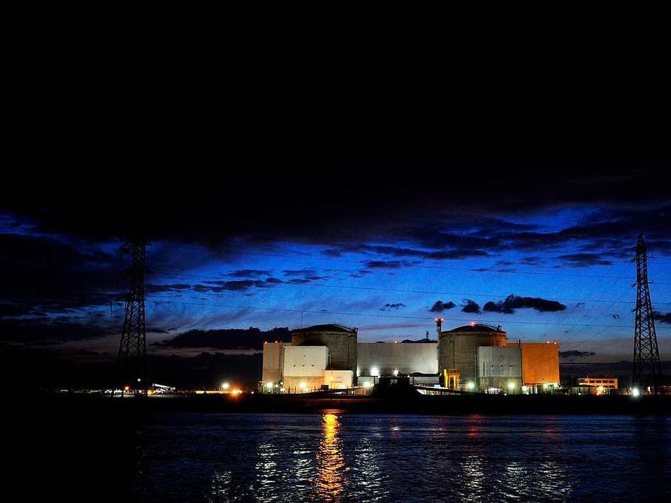 Ein Reaktor war nach Wasserrohrbruch heruntergefahren worden.  | Foto: AFP