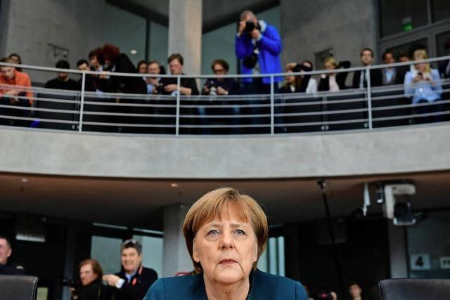 Merkel sagt vor dem Untersuchungsausschuss aus