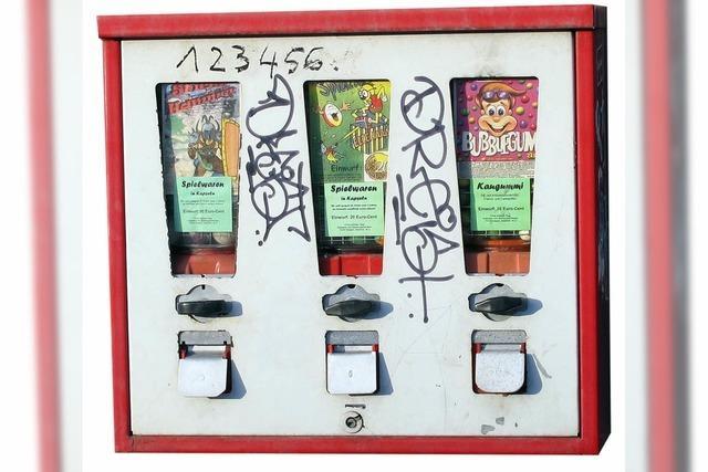 Kaugummi-Automaten sind nicht totzukriegen