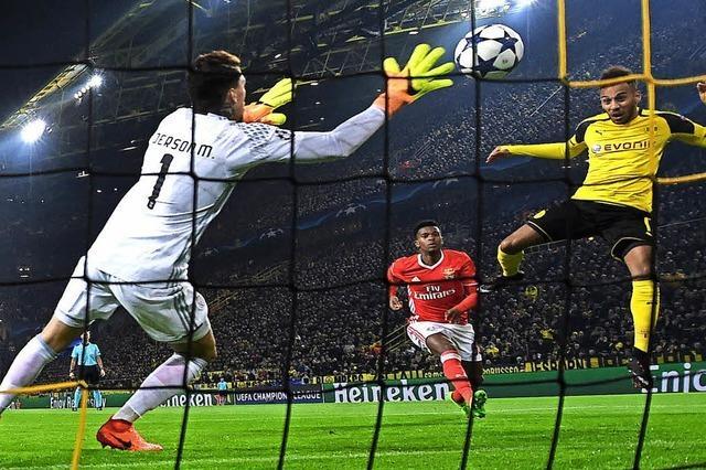 Borussia Dortmund zieht ins Viertelfinale ein