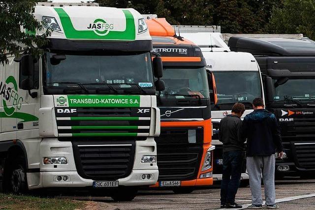 Immer häufiger wird die Ladung von Lastern geplündert