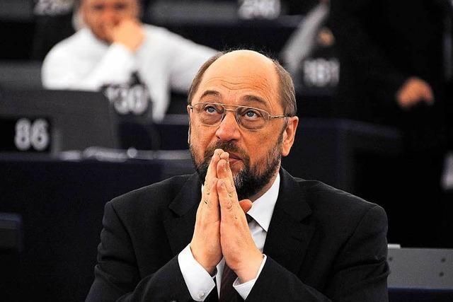 EU-Parlament: Schulz überschritt seine Kompetenzen