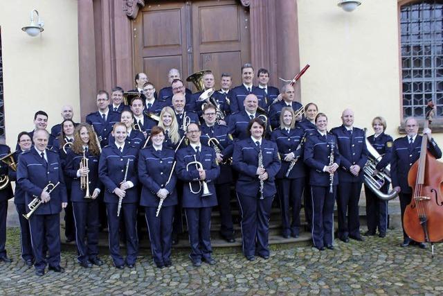 Polizeimusik Freiburg zu Gast in Badenweiler