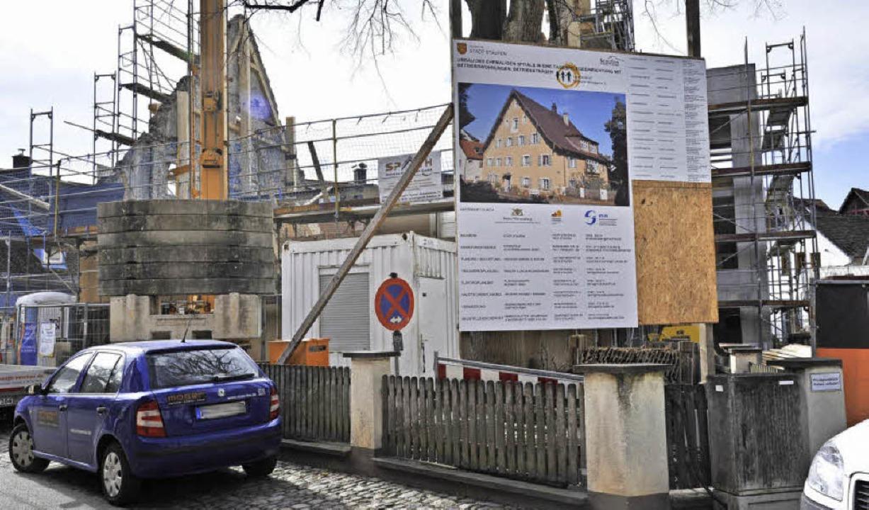 Noch viel zu tun: das Alte Spital  | Foto: Hans-Peter Müller