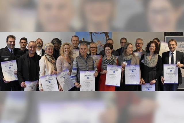 Auszeichnung für die Präventionsarbeit im Landkreis