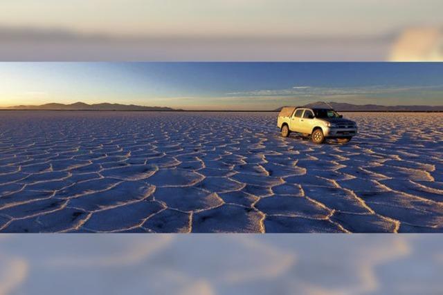 Südamerika-Schau: Durch die Wüste ins ewige Eis