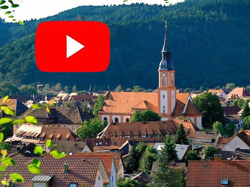 Die Stadt Waldkirch hat seit kurzer Zeit einen Youtube-Kanal.  | Foto: Privat/Montage:Klingel