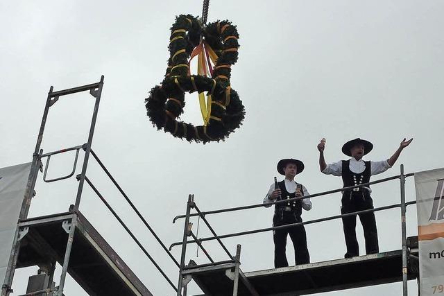 Richtfest am Dorfbach