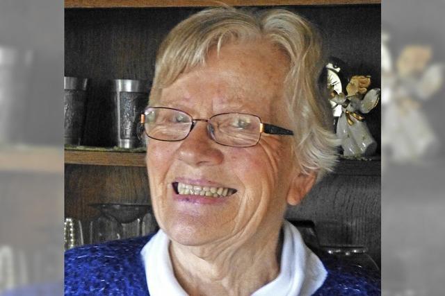 Lisbeth Drüssel wurde 80 Jahre
