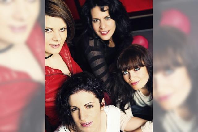 Die Frauenband Miss Foxy im KiK Offenburg
